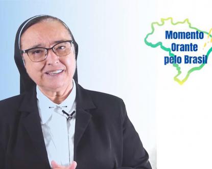 Nesta sexta-feira momento orante pelo Brasil