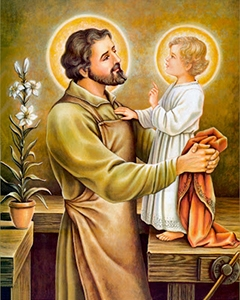"""São José, e os """"amigos do Coração de Jesus"""""""