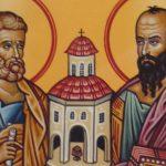 São Pedro e São Paulo: colunas da Igreja encontradas por Cristo