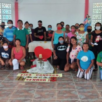 """""""Ser o Coração de Deus, no coração da Amazônia Brasileira"""""""
